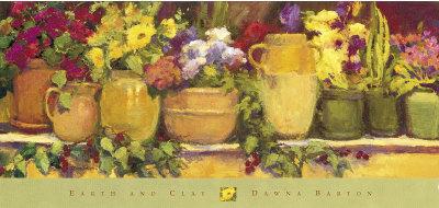 Earth and Clay Prints by Dawna Barton