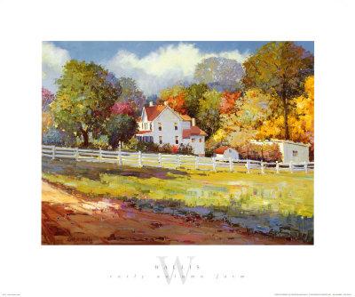 Early Autumn Farm Prints by Kent Wallis