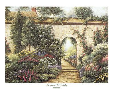 Garden Gate Prints by Barbara R. Felisky