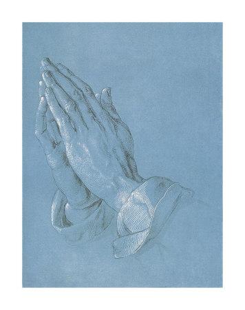 祈りの手, 1508-09 アートプリント