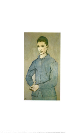 Blue Boy Prints by Pablo Picasso