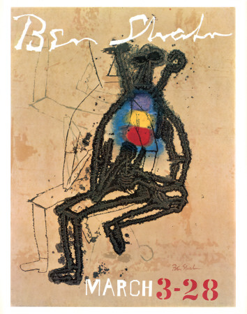 March 3-28 Prints by Ben Shahn