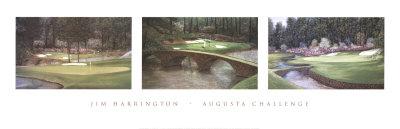Augusta Challenge Prints by Jim Harrington