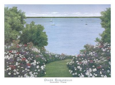 Summer Vista Posters by Diane Romanello