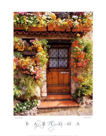 Flower Cottage Prints by Dennis Barloga