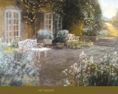 Garden Terrace Print by Piet Bekaert