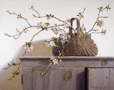 Apple Blossoms Art by Pauline Eblé Campanelli