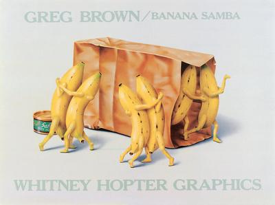 Banana Samba Kunsttryk