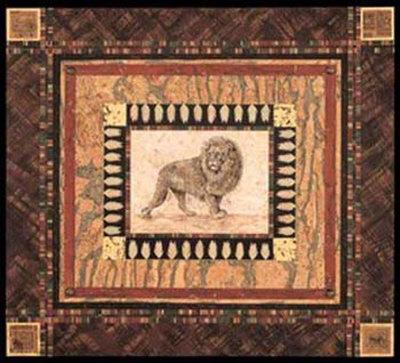 Lion Prints by Pamela Gladding