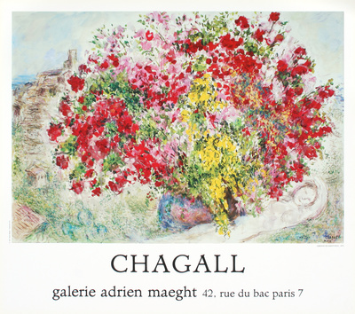 Jardins de St.Paul, 1973 Collectable Print by Marc Chagall