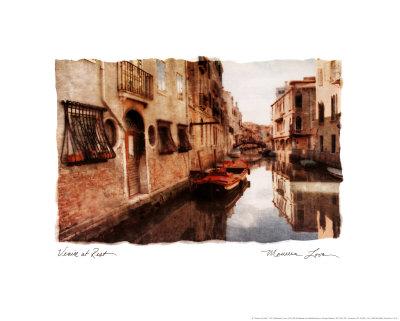 ベネチアの休日 ポスター : モリーン・ラブ