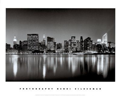 New York, New York, Manhattan East Side Posters by Henri Silberman
