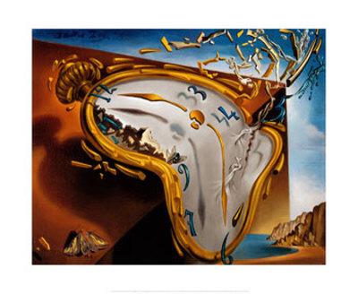 Montre Molle au Moment Posters by Salvador Dalí