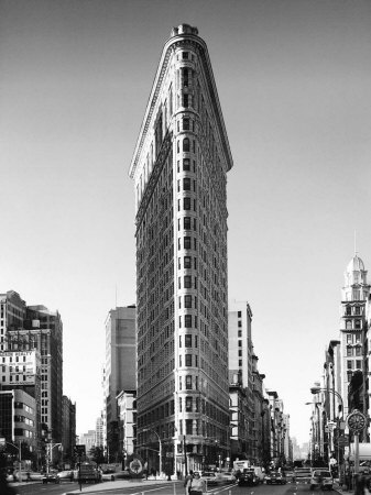Flatiron building new york kunsttryk
