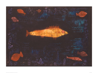 The Golden Fish, c.1925 Art Print