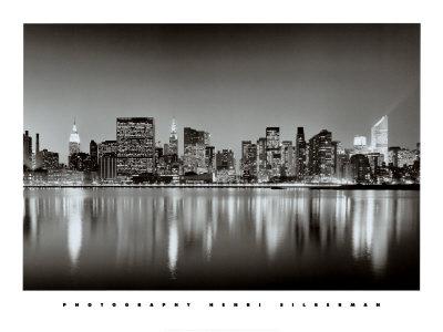 New York, New York, Manhattan East Side Poster by Henri Silberman
