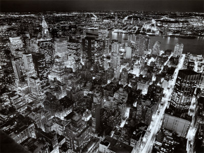 Empire State Building, East View Prints by Henri Silberman