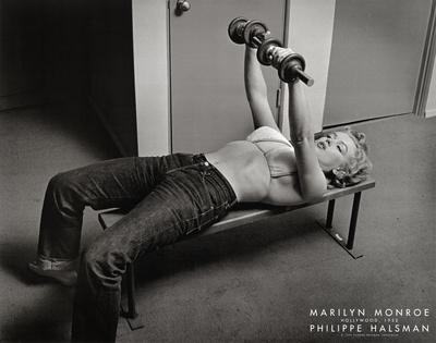 Marilyn Monroe, Hollywood 1952 Poster von Philippe Halsman