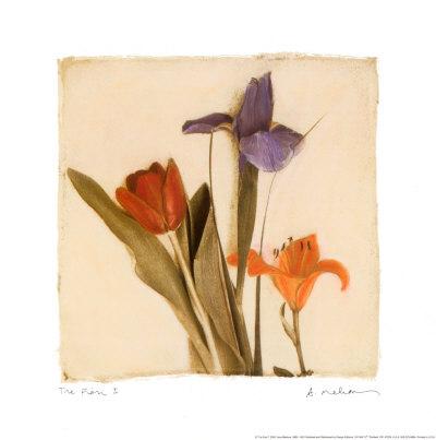 3輪の花I ポスター : エイミー・メリオウス