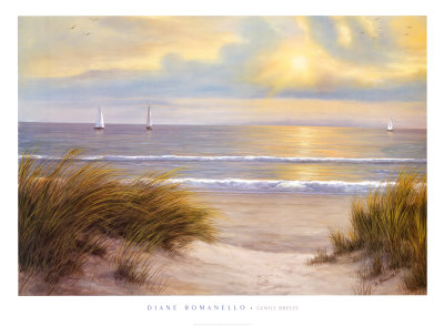 Gentle Breeze Poster by Diane Romanello