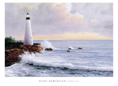 Eternal Light Poster by Diane Romanello