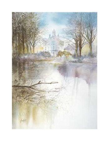 Romantic Flandern Print by Xavier Swolfs