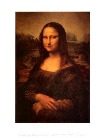 Mona Lisa, c.1507 Art by Leonardo Da Vinci