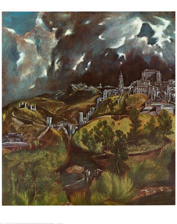 Vista de Toledo, 1597 Pósters por  El Greco