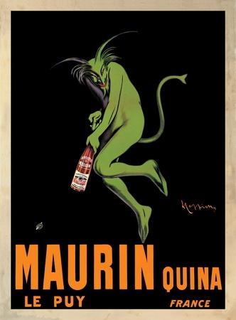 Maurin Quina, c.1906 Print by Leonetto Cappiello