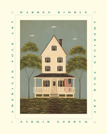 The Front Porch Art Print
