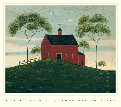 Brandon Barn Art Print