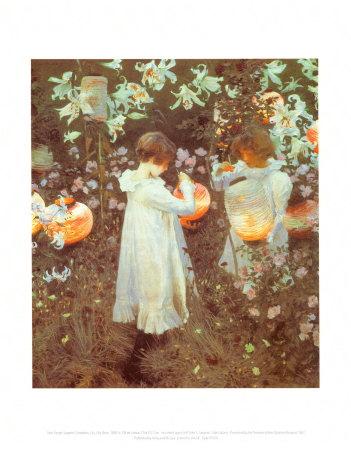 Carnation, Lily, Lily, Rose Poster by John Singer Sargent