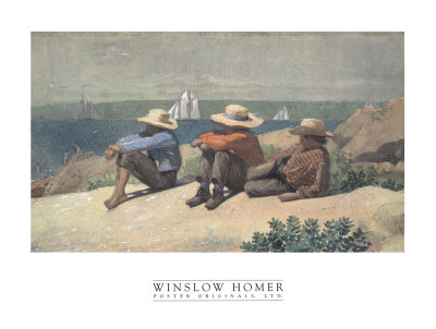 On the Beach, 1875 Posters by Winslow Homer