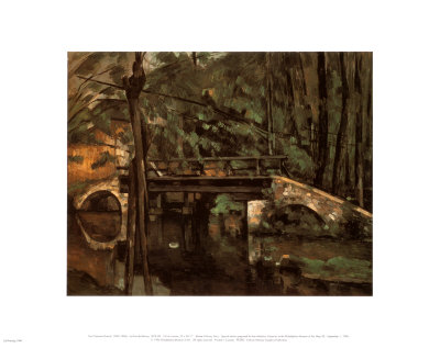 Bridge of Maincy Melun Art Print