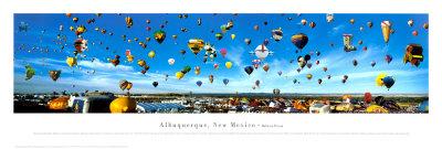 Albuquerque, New Mexico Balloon Festival Prints by James Blakeway