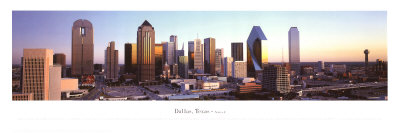 Dallas, Texas Posters by James Blakeway