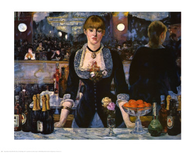 Bar at the Folies-Bergere, 1882 Poster by Édouard Manet