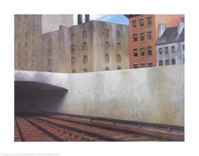 Approaching a City Prints by Edward Hopper