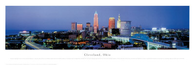 Cleveland, Ohio Prints by James Blakeway