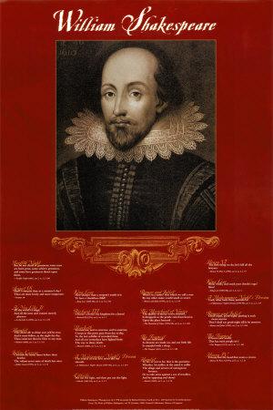 Personnes célèbres réelles ou imaginaires - Page 20 William-shakespeare