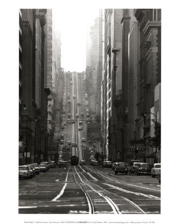 California Street, San Francisco, 1964 Prints by Todd Walker