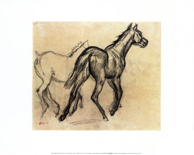 Chevaux Reproduction d'art
