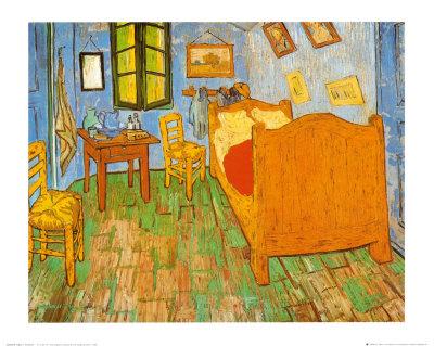 Vincent Van Gogh Arles 39 Te Yatak Odas 1887 Poster