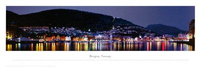 Bergen, Norway Poster by James Blakeway