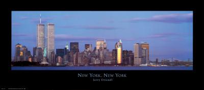New York, New York Art by Jerry Driendl