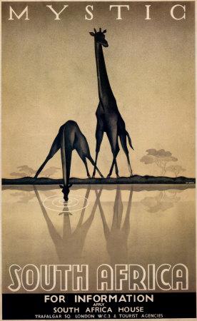 Mystiske Sydafrika Plakater af Gayle Ullman