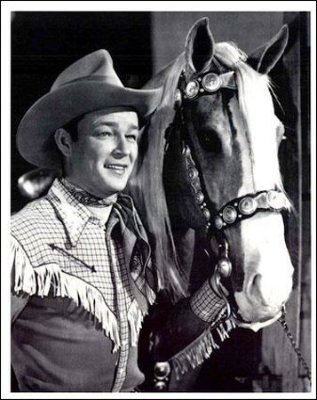 Roy Rogers Poster Card