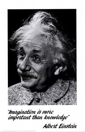 Einstein: Imagination Photo