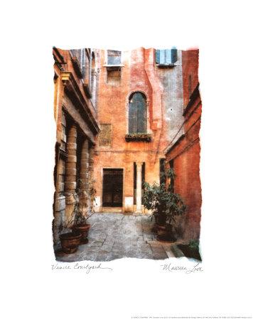 ベネチアの中庭 ポスター : モリーン・ラブ