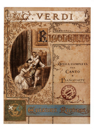 Verdi- Rigoletto Reproduction d'art
